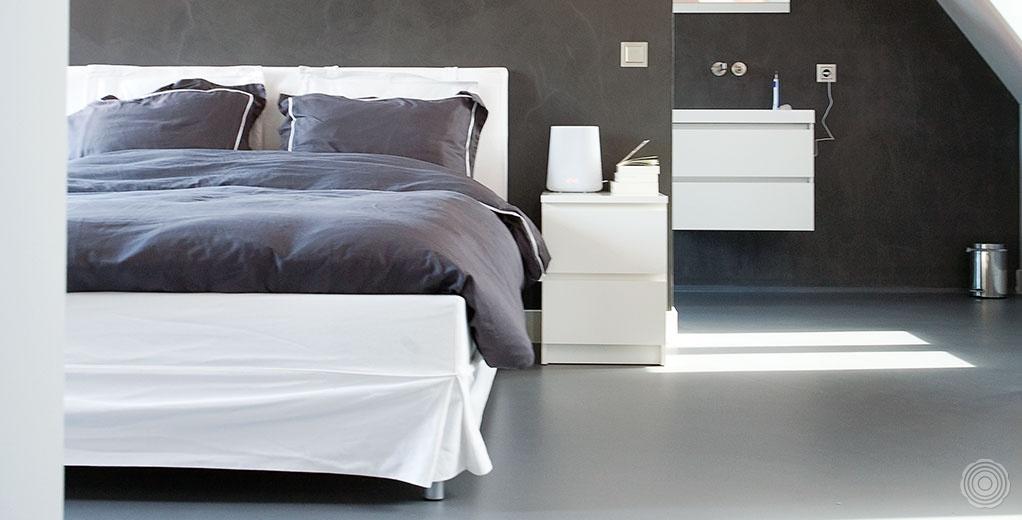 Senso gietvloeren slaapkamers senso gietvloer