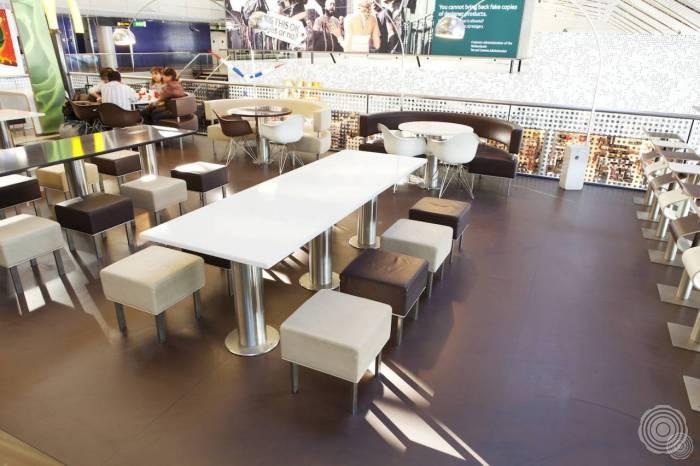 Senso Pvc Vloeren : Gietvloer restaurant: hygiënische en slijtvaste horecavloeren