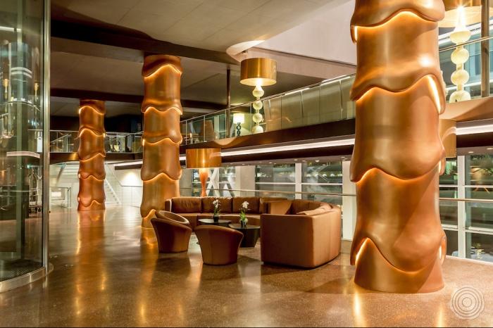 resin floor hotels