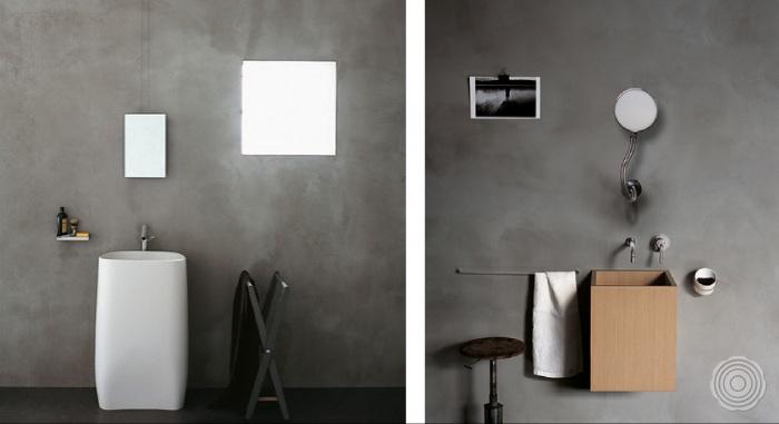 Badkamer Met Gietvloer : Naadloze wanden voor in de badkamer senso gietvloer