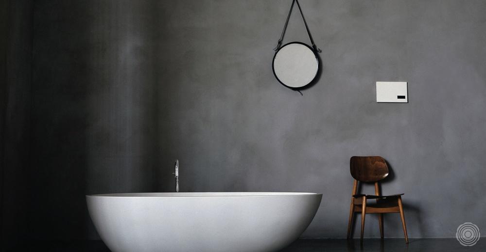 Naadloze wanden voor in de badkamer  SENSO Gietvloer