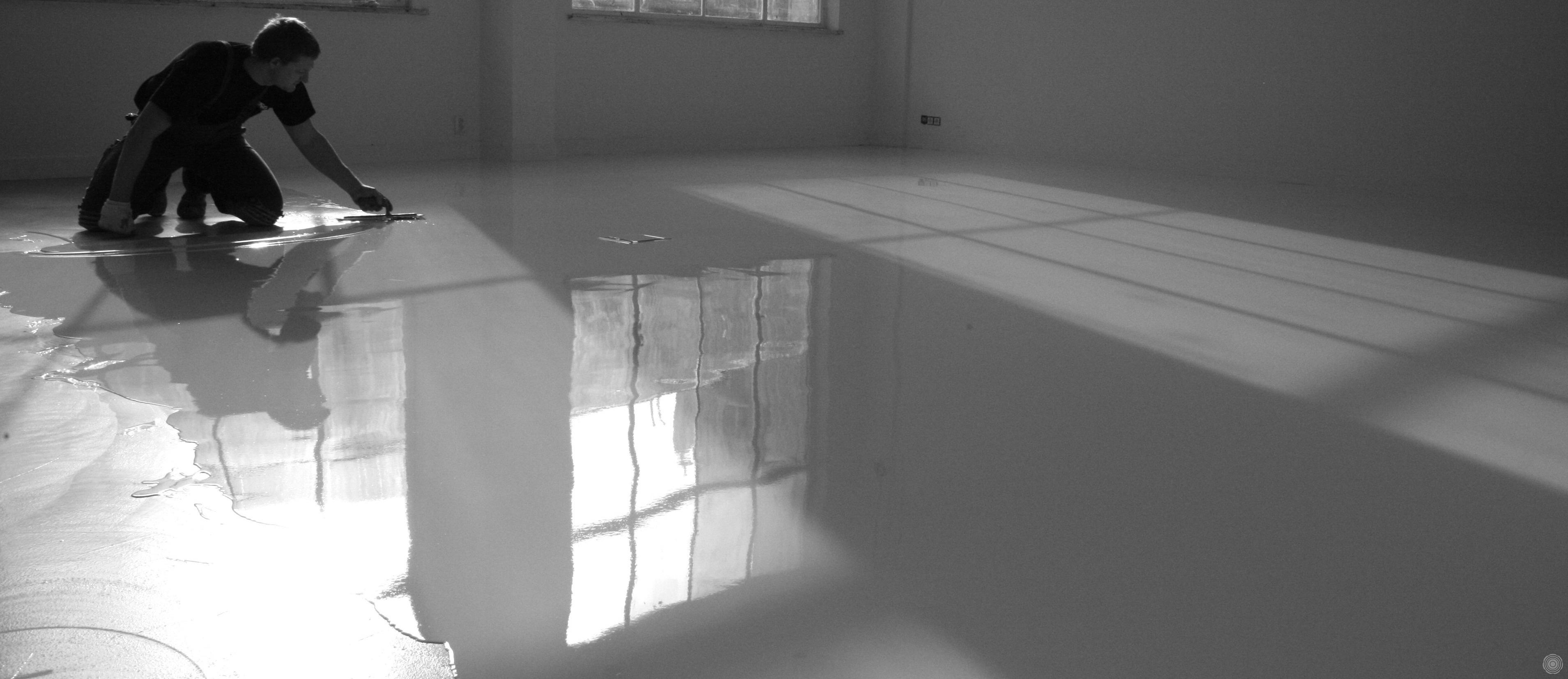 SENSO | aanbrengen gietvloer