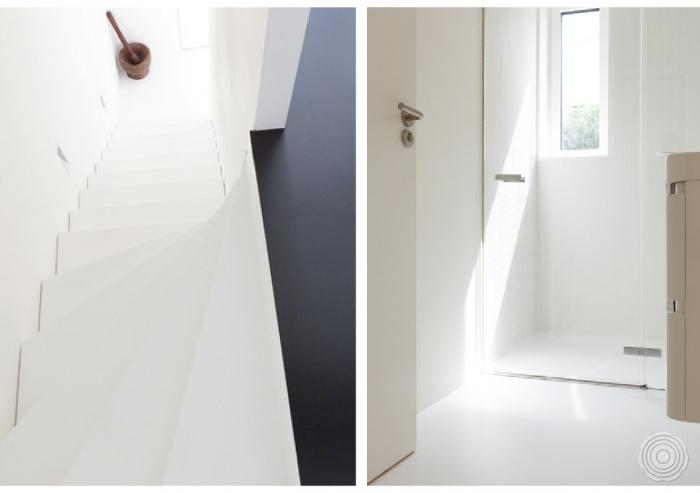 Gietvloer Badkamer Douche : Gietvloeren voor de badkamer senso gietvloer