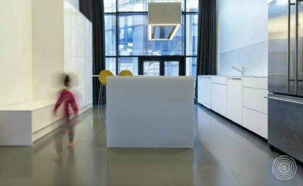 Gietvloer Voor Keuken : Seamless Epoxy Resin Flooring Residential