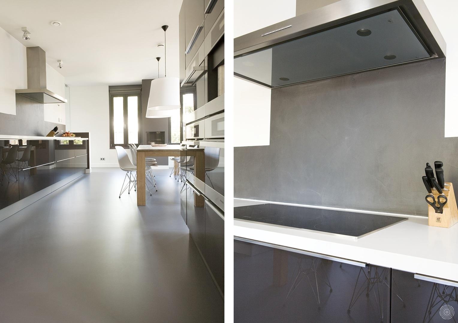 Gietvloer Voor Keuken : gietvloeren in keukens een overzicht van senso gietvloeren in keukens