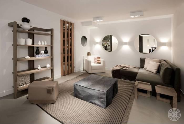ruimtes verbinden eenheid woonkamer keuken tot in de slaapka
