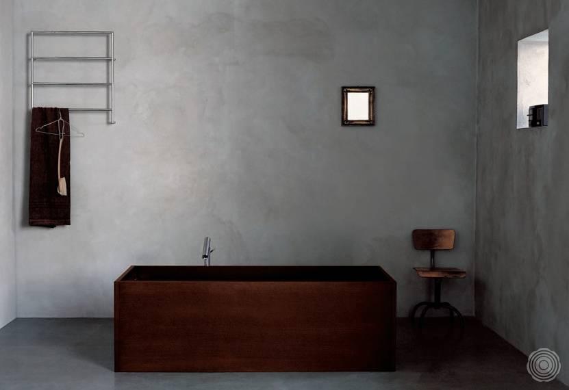 Naadloze wanden voor in de badkamer | SENSO Gietvloer